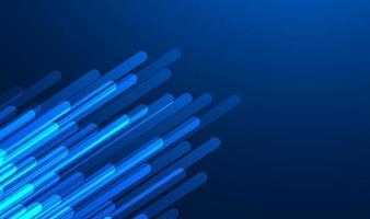 Fondo degradado azul abstracto con líneas de iluminación. ilustración vectorial vector