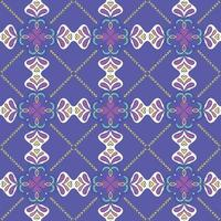 Colorful ethnic pattern vector