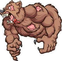 Strong zombie bear
