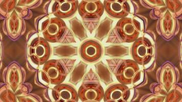 sfondo astratto caleidoscopio multicolore video