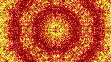 orange kaleidoskopischer Hintergrund