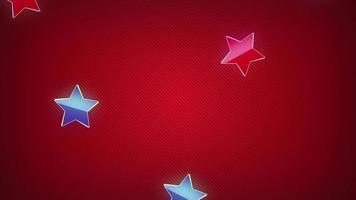 fond étoile volante