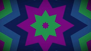 fundo de loop vj flor afiado video