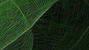 Green Wire Mesh Line Wave Background loop motion