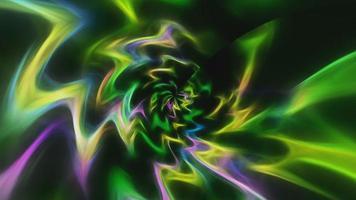 fundo abstrato com linhas neon video