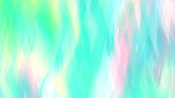 Abstract Iridescent Green Neon Background