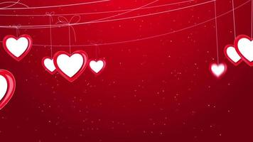 Strings of Hearts Background