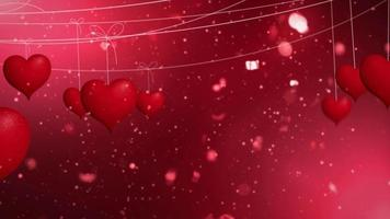 fondo de corazones llamativos