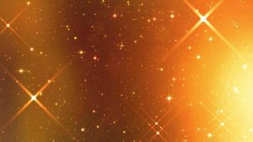 particules scintillantes backgrond video