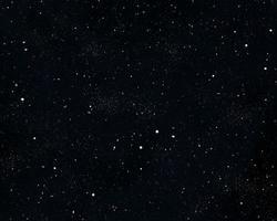 Fondo de cielo nocturno estrellado 3d