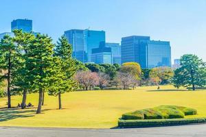 horizonte del paisaje urbano de tokio en japón