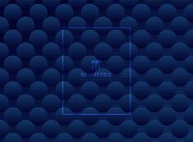 Resumen patrón de círculos azul oscuro fondo y textura sutiles. Enrejado de estilo de lujo. repetir geométrica. vector
