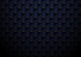 Abstract elegant dark blue and gold geometric semicircle pattern background and texture. vector