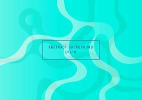 Fondo de formas dinámicas fluidas azules abstractas concepto moderno