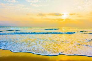 mar y playa foto