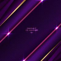 Abstract background striped purple and pink triangle with diagonal line and lighting effect texture vector
