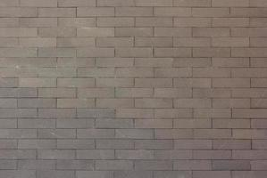 Gray brick wall texture for background