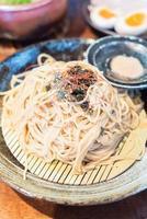 Ramen noodles in dish