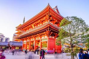 templo sensoji en tokio, japón foto