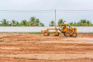 Road Construction Grader industrial machine