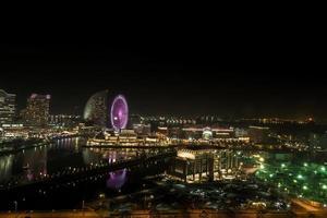yokohama, japón, 2020 - vista aérea de la ciudad