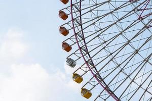 Ferris wheel during the day