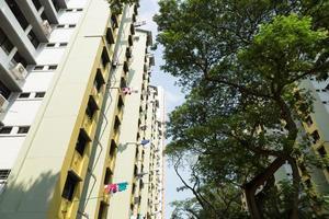 Condominium buildings in Singapore