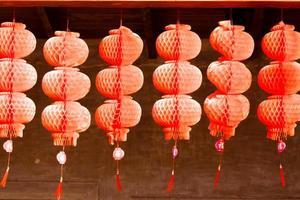 linternas rojas para el año nuevo chino