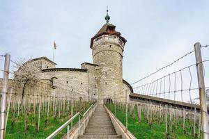 Fortaleza de Munot en Schaffhausen, Suiza