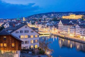 vista de zurich, suiza
