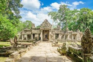Banteay Kdei entrance in the Angkor Wat temple complex, Siem Reap, Cambodia