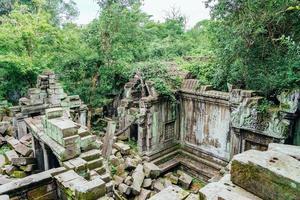 Beng Mealea ruinas del templo en medio del bosque, Siem Reap, Camboya