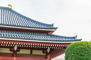 templo sensoji en el área de asakusa, tokio, japón