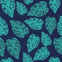 fondo de follaje tropical con hojas verdes