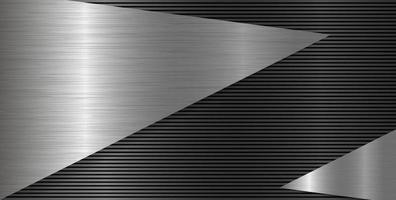 Ilustración de vector de fondo de textura de metal