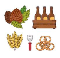 Collection of beer icons
