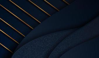 Fondo de oro de lujo cortado en papel con textura de metal 3d abstracto, para tarjeta de regalo, póster en la plantilla de póster de pared, página de destino, ui, ux, libro de portada, pancarta,