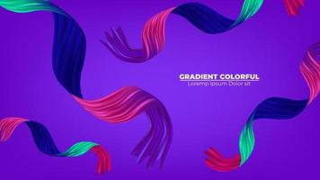 Color brushstroke oil or acrylic paint background modern colorful. Suitable For Wallpaper, Banner, Background, Card, Book Illustration, landing page, gift, cover, flyer, report, bussiness,