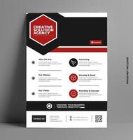 folleto de folleto de vector moderno.