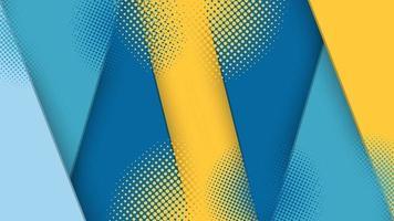 Fondo abstracto gráfico futurista de semitono moderno. diseño de textura de fondo abstracto de vector. cartel de semitono brillante. Ilustración de vector de fondo de semitono de banner