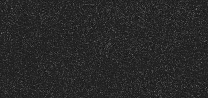 Abstract white dotted pattern grunge on black background and texture. vector
