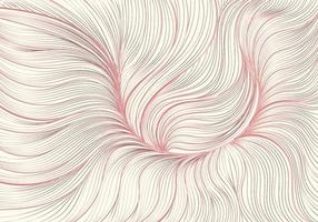 Hand drawn abstract pink floral lined pattern. Luxury style background texture. vector