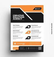 Modern Vector Brochure Flyer Design.
