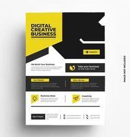 Vector Flyer Business Brochure Template.