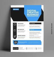Business Conference Flyer Template. vector