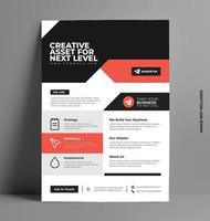 Multipurpose Corporate Business Flyer Layout. vector
