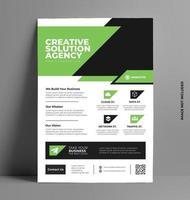 imprimir flyer corporativo. vector