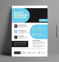 Corporate Flyer Template in A4 Size.
