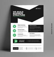 Vector Flyer Template in A4 Size.