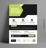 Corporate Business Flyer. vector